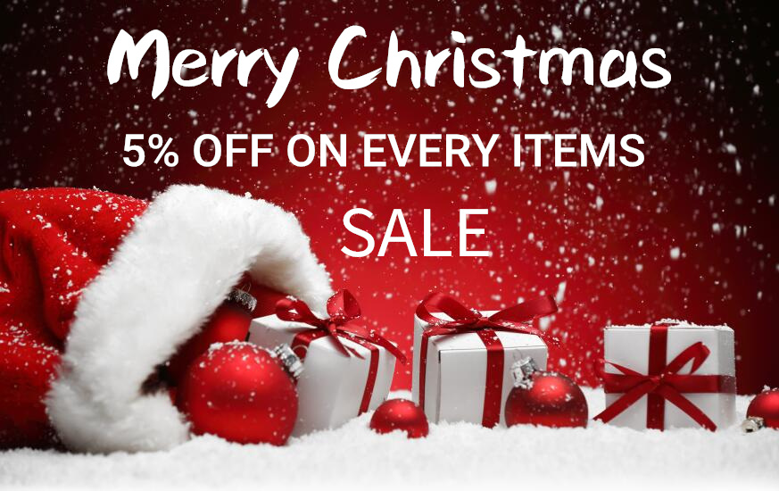 Hurry Up!!! Enjoy your Christmas Discount Now